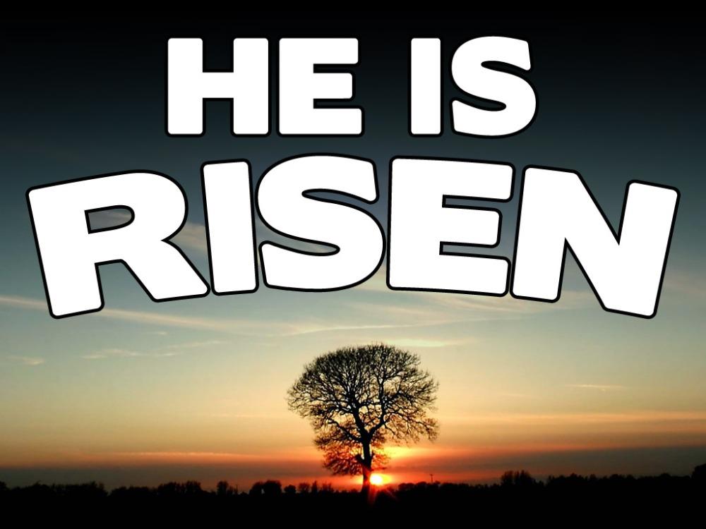 Last Easter, I missed the Resurrection